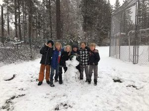 Sun Snapshots: May Day on the playground at Tahoe Lake Elementary