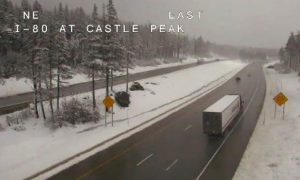 May snow showers hit Truckee Tahoe region; cold temps expected for next week