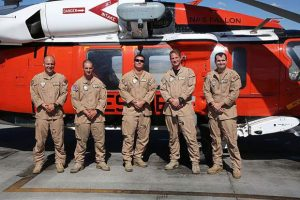 Navy SAR rescues Donner Summit rock climber